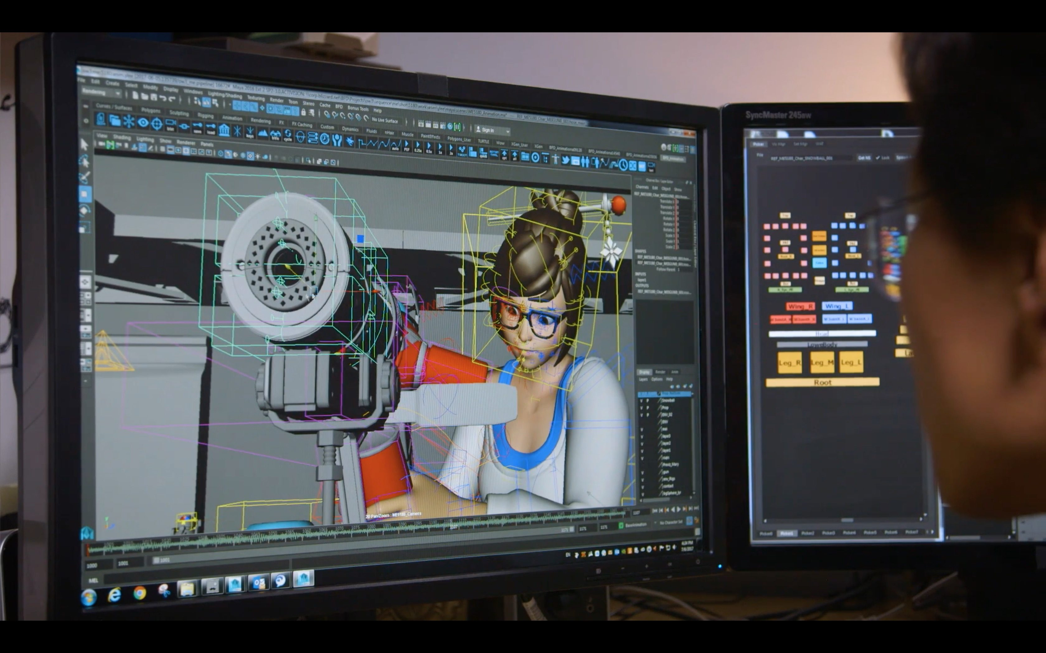Making Of Overwatch Animated Short : Rise and Shine