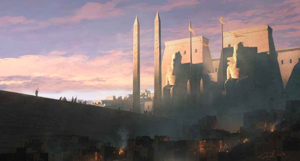 Assassin's Creeds Origins Concept Art by Raphael Lacoste