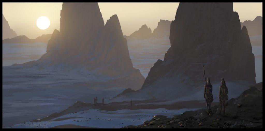 Assassin's Creeds Origins Concept Art by Raphael Lacoste