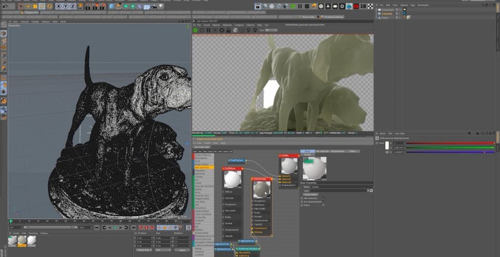 How To Create Subsurface Scattering In C4D & Octane
