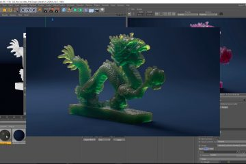 The Dragon Shader - Arnorld and Cinema 4D