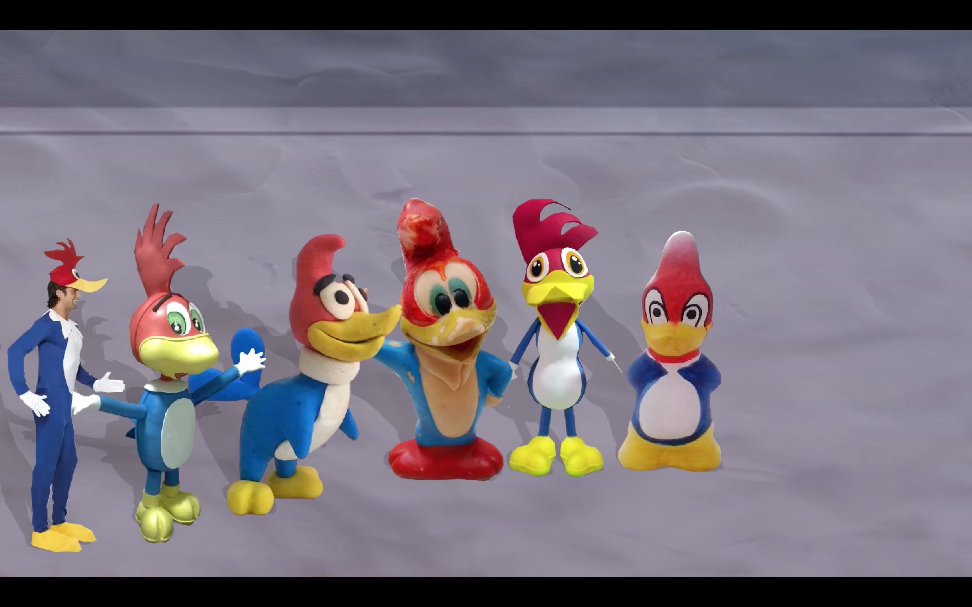 Woody Woodpecker Reanimated by 70 Animators