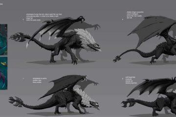 Making Of League of Legend AR Elder Dragon