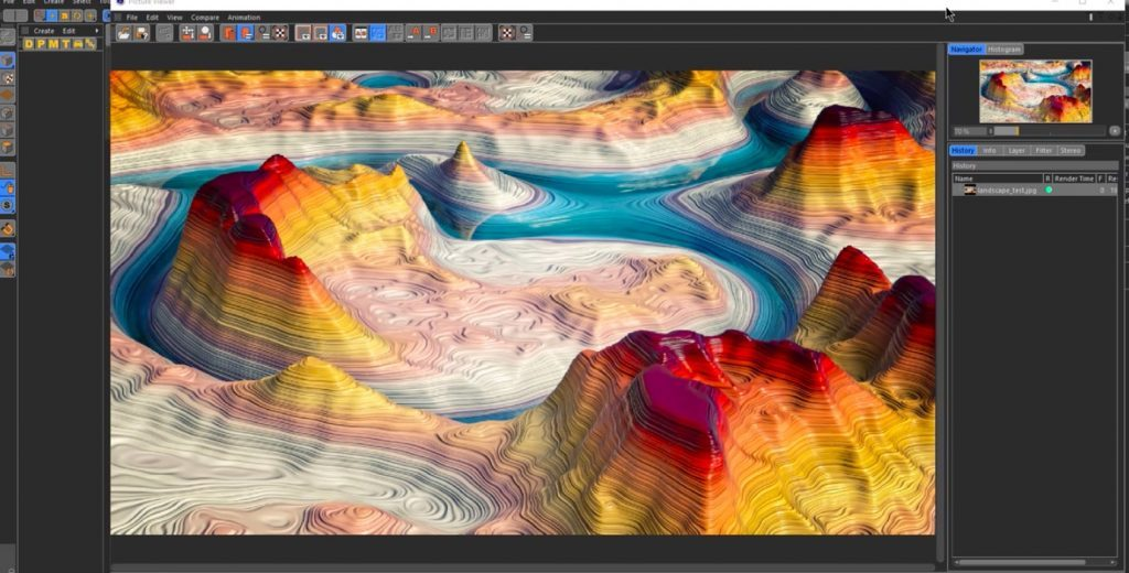 Create a Colorful Canyon in Cinema 4D