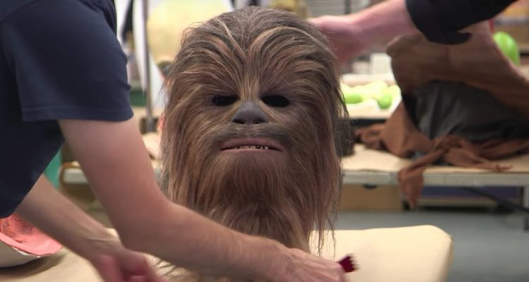 Making of Chewbacca Mask