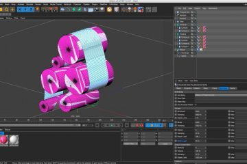 Using Softbody Dynamics to Create Dynamic Ribbons