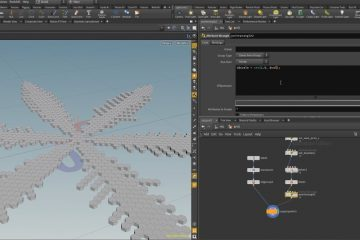 Creating A Procedural Snowflake in Houdini