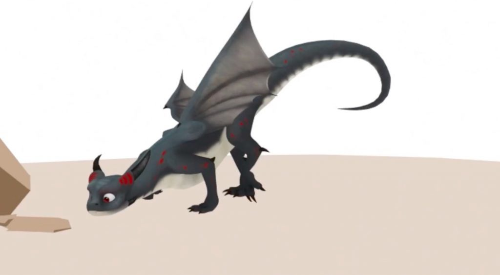 Breakdown of a Dragon Animation