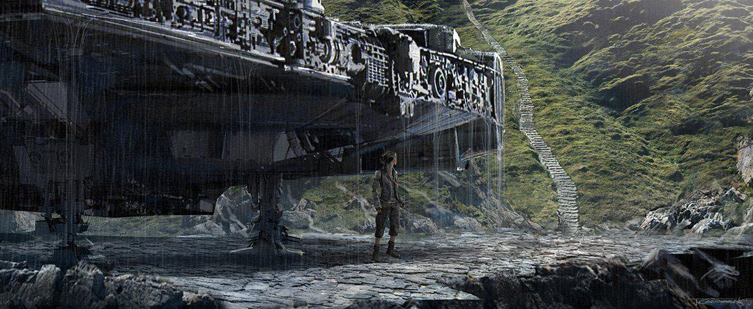 James Carson - Star Wars The Last Jedi Concept Art
