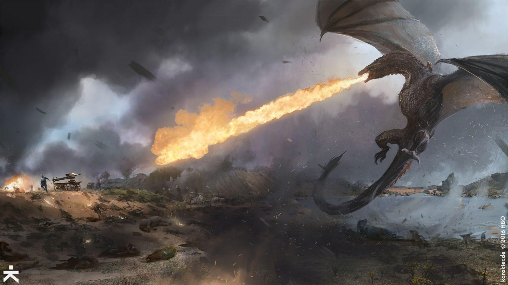 Karakter Studio - Game Of Thrones Concept Art