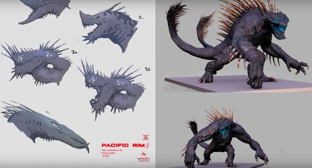 Pacific Rim Uprising Designing the Kaiju