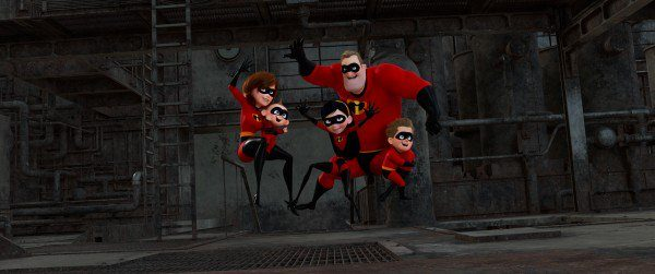 Incredibles 2 Concept Art & Shot Progression