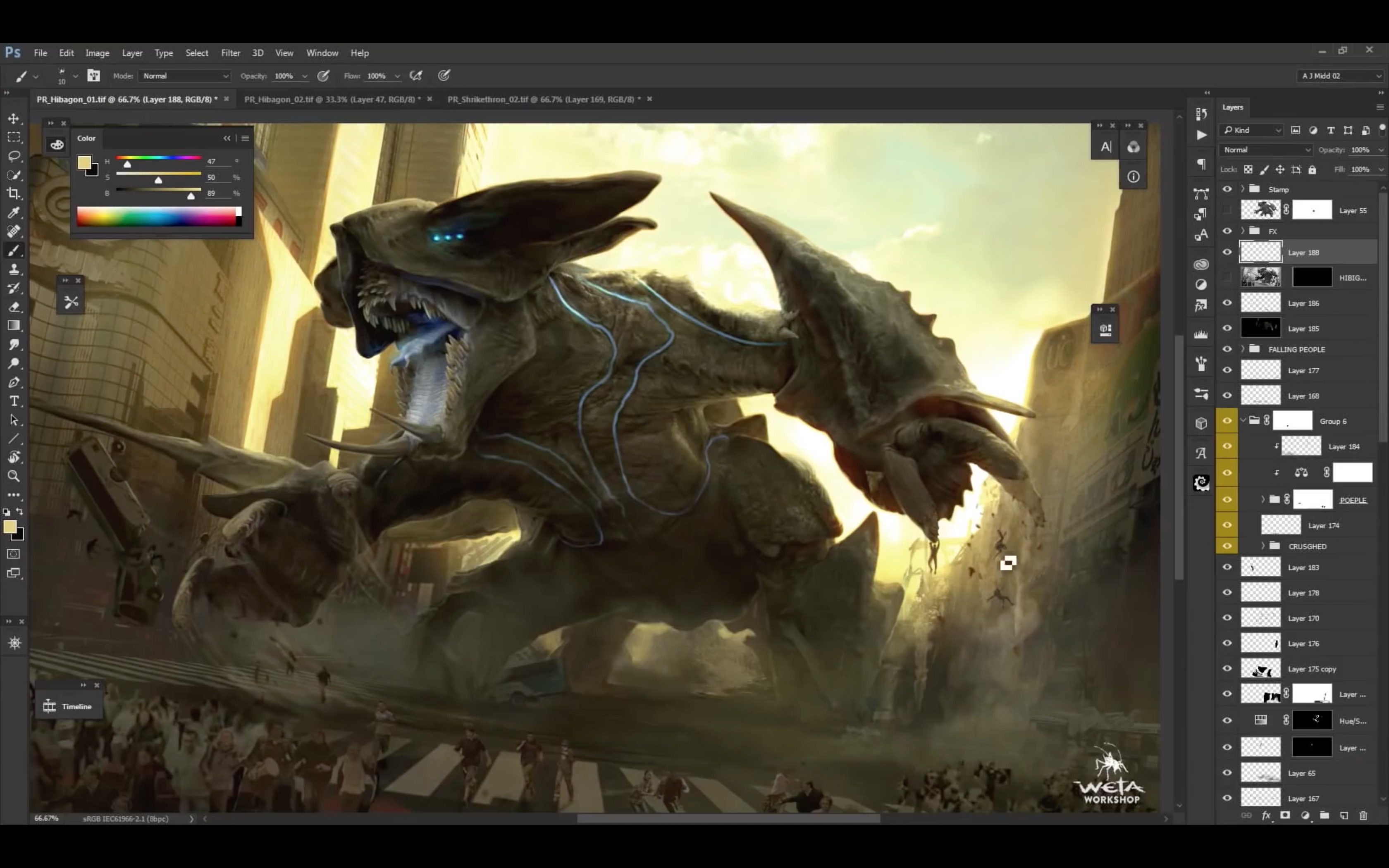 Designing Pacific Rim Uprising' Kaiju by Weta Workshop