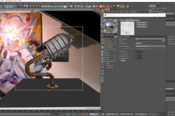Creating a Rocket Lamp in Cinema 4D