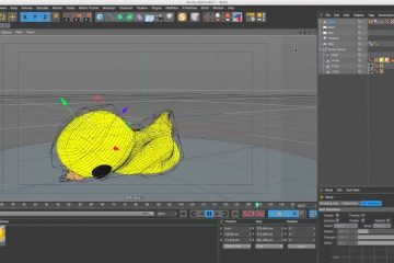 Speeding Up Soft Body Dynamics Using Mesh Deformer