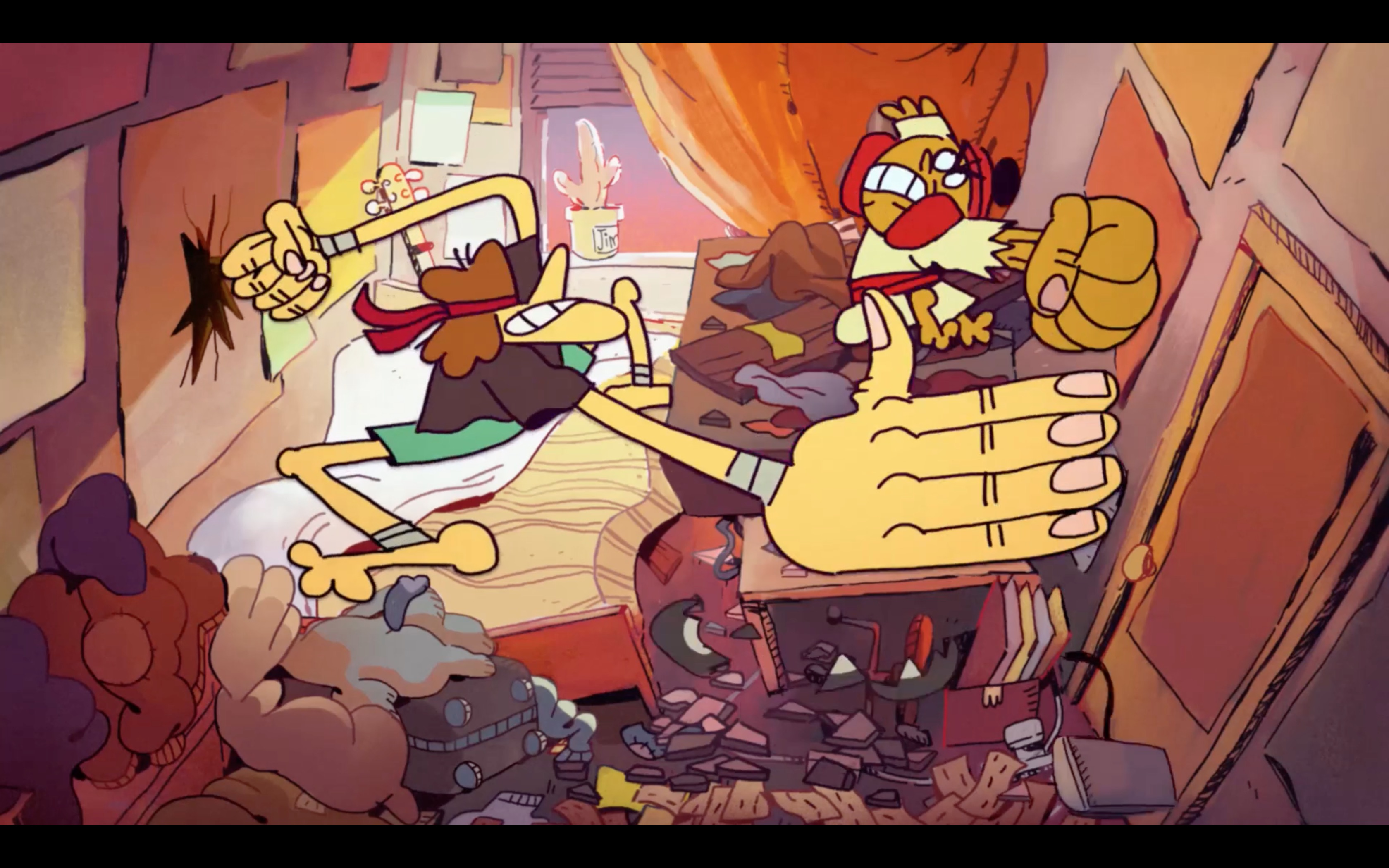 Animated Short: Love Nest