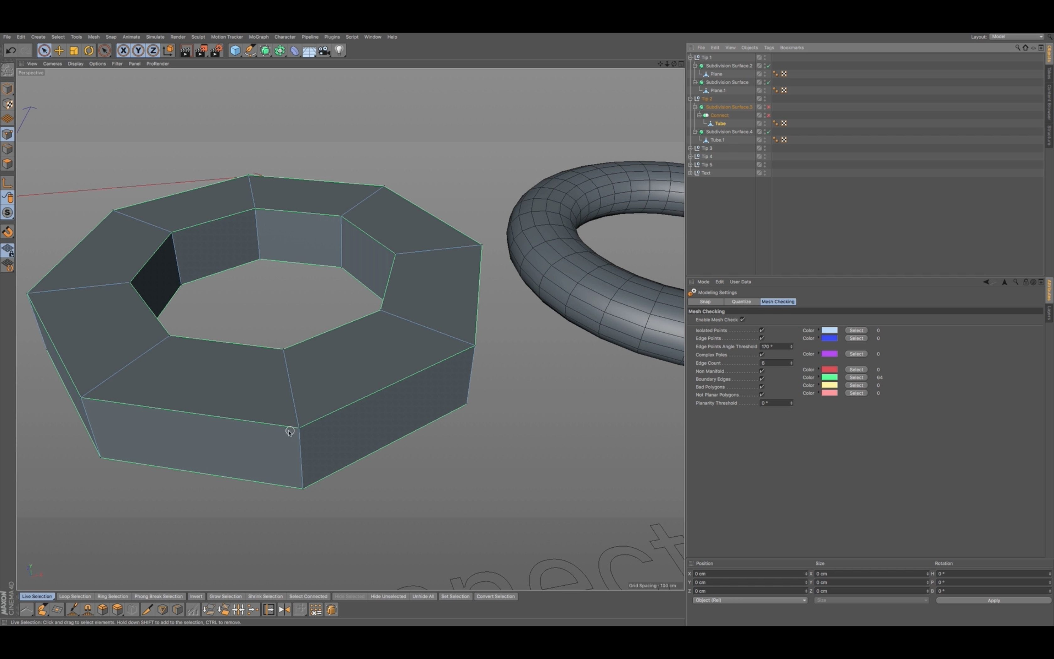 Tips and Techniques for Modeling in Cinema 4D