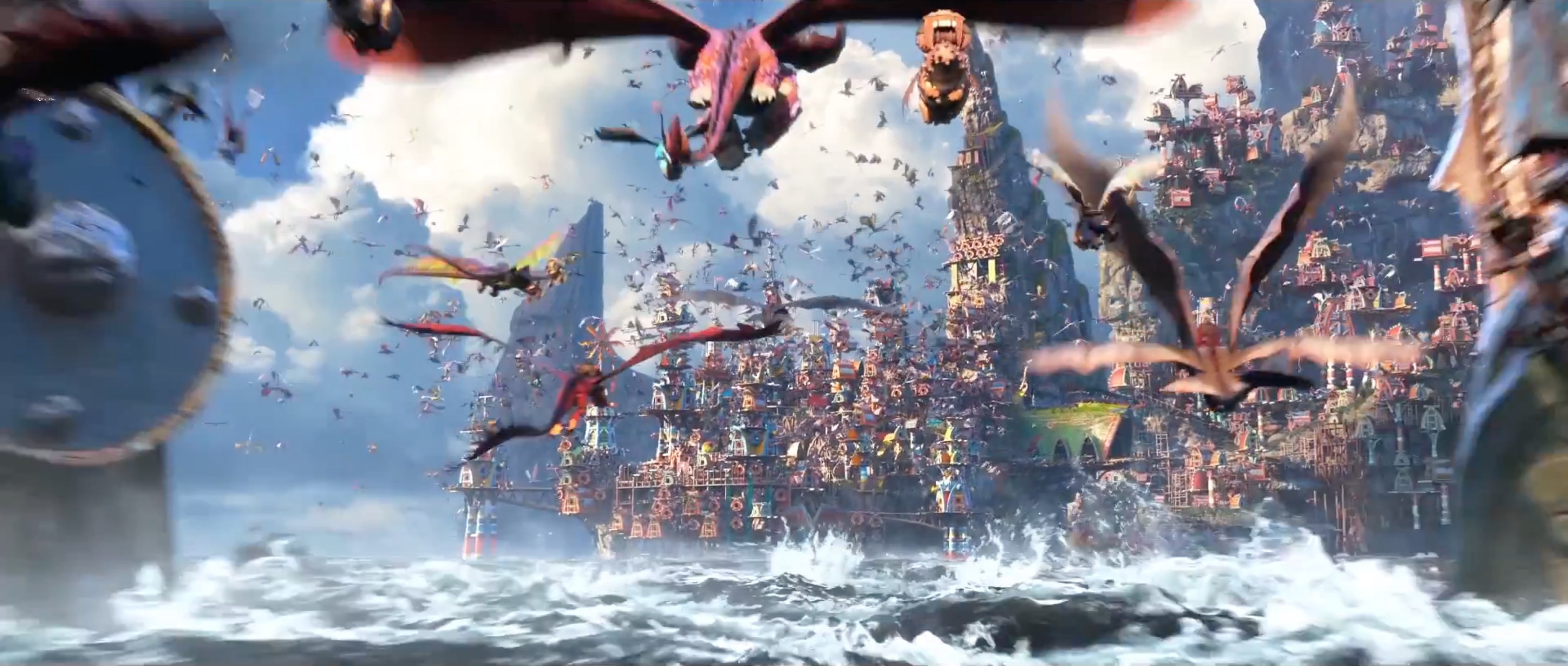 How to train your dragon 3 the hidden world official trailer ccuart Image collections