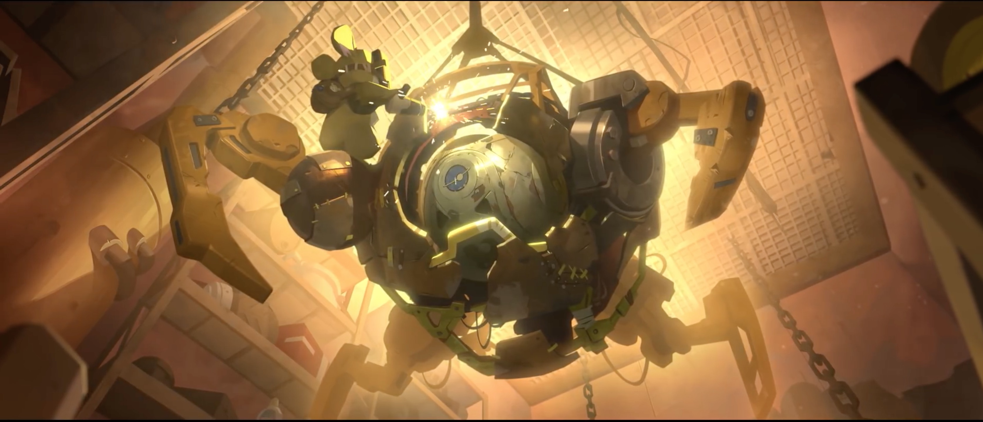 Overwatch Cinematic: Wrecking Ball Origin Story