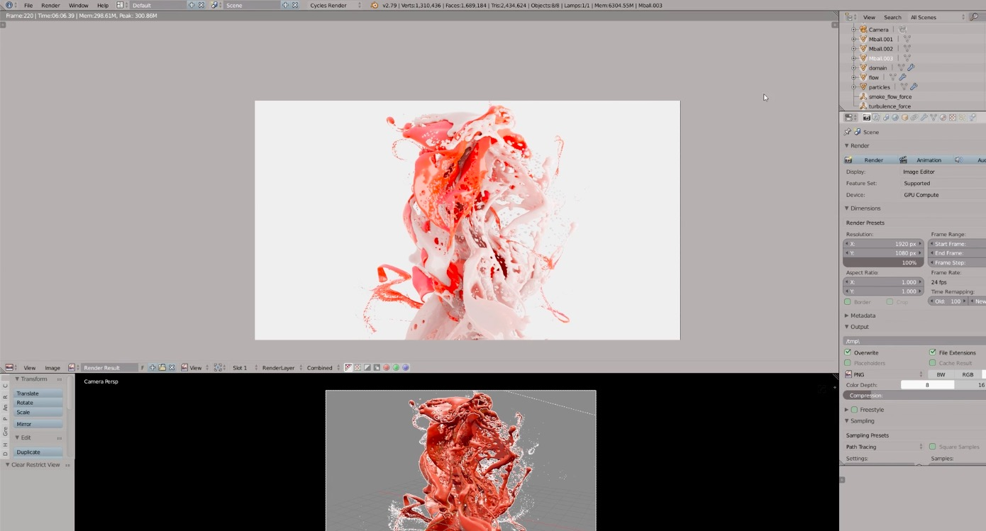 How to Create a Paint Splash in Blender