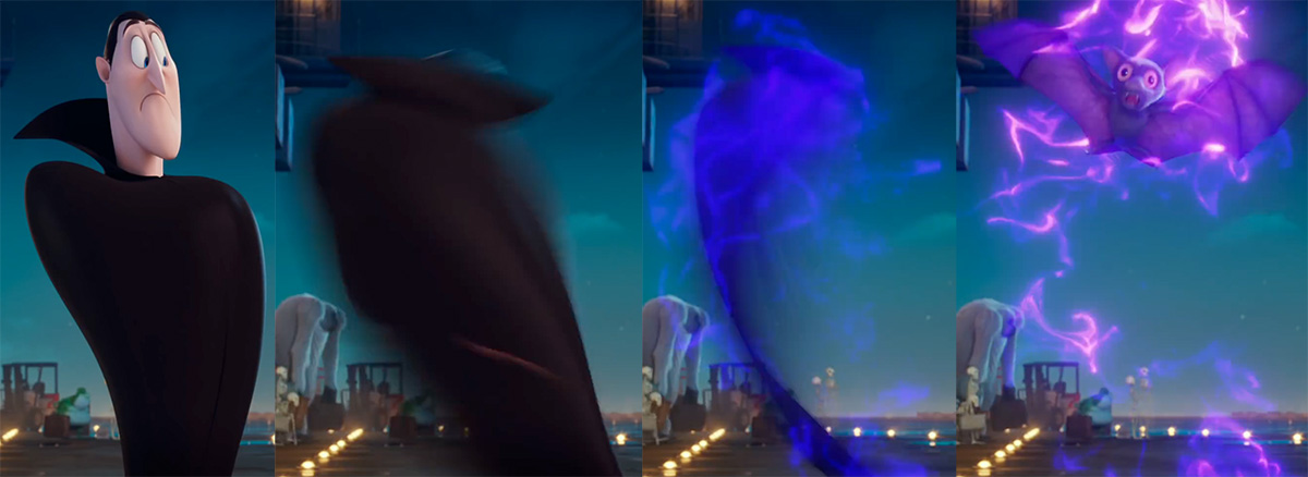 Hotel Transylvania 3 Concept Art & Animation Process