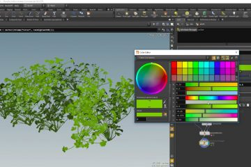 Plant Simulation in Houdini