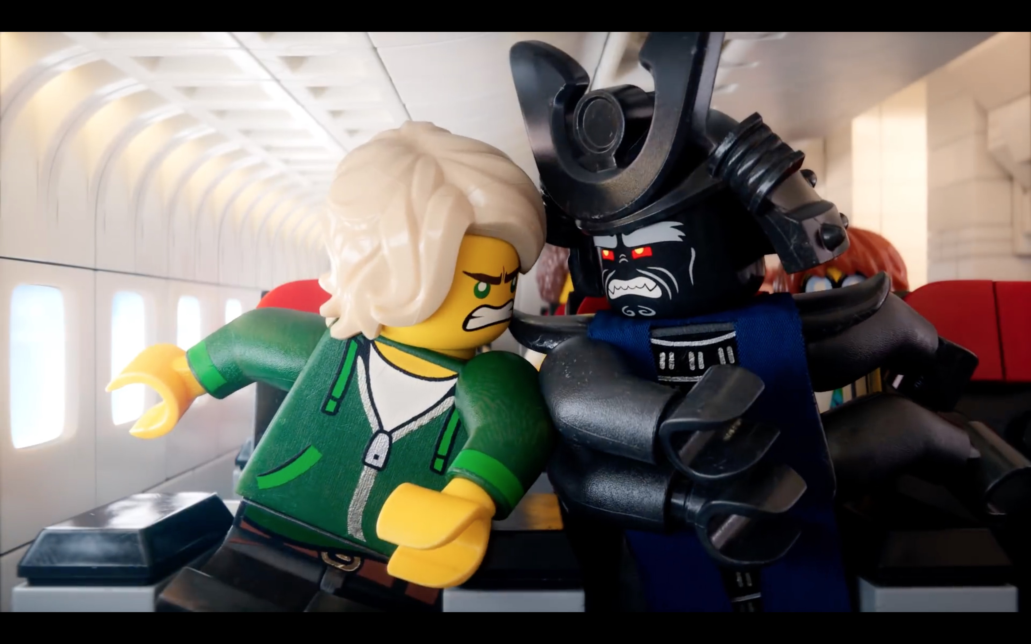 The Lego Movie 2 Airplane Safety Video