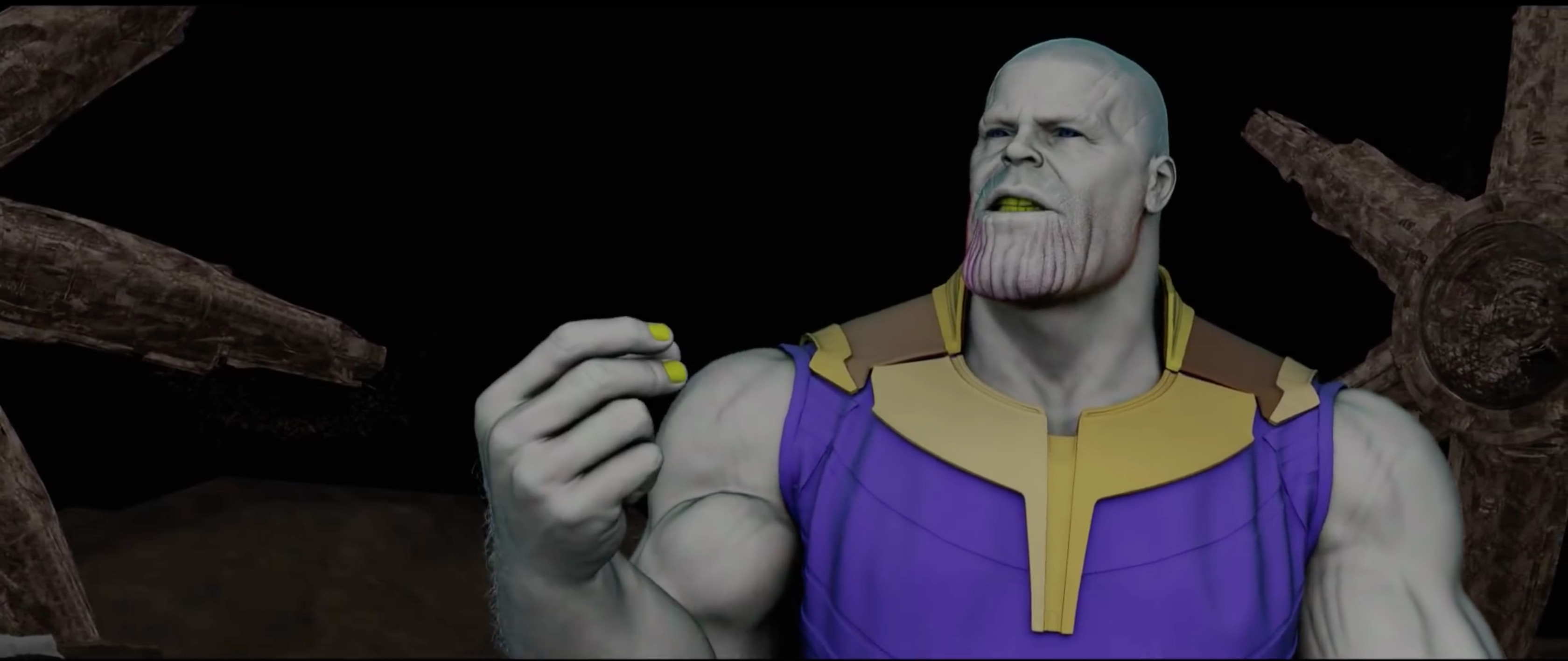 Avengers: Infinity War VFX Breakdown by Weta