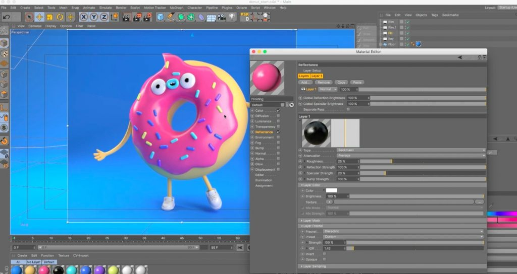 Creating Vinyl Toy Textures in Cinema 4D