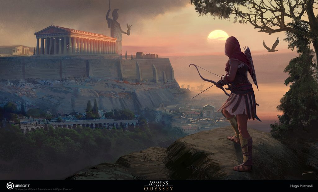 Assassin's Creed Odyssey Concept Art by Hugo Puzzuoli