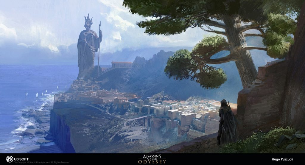 Assassin S Creed Odyssey Concept Art By Hugo Puzzuoli
