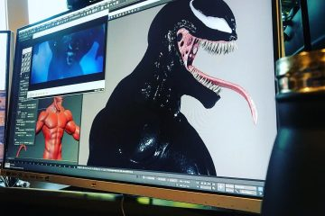 VENOM Visual Effects Course in 3ds max from Allan McKay