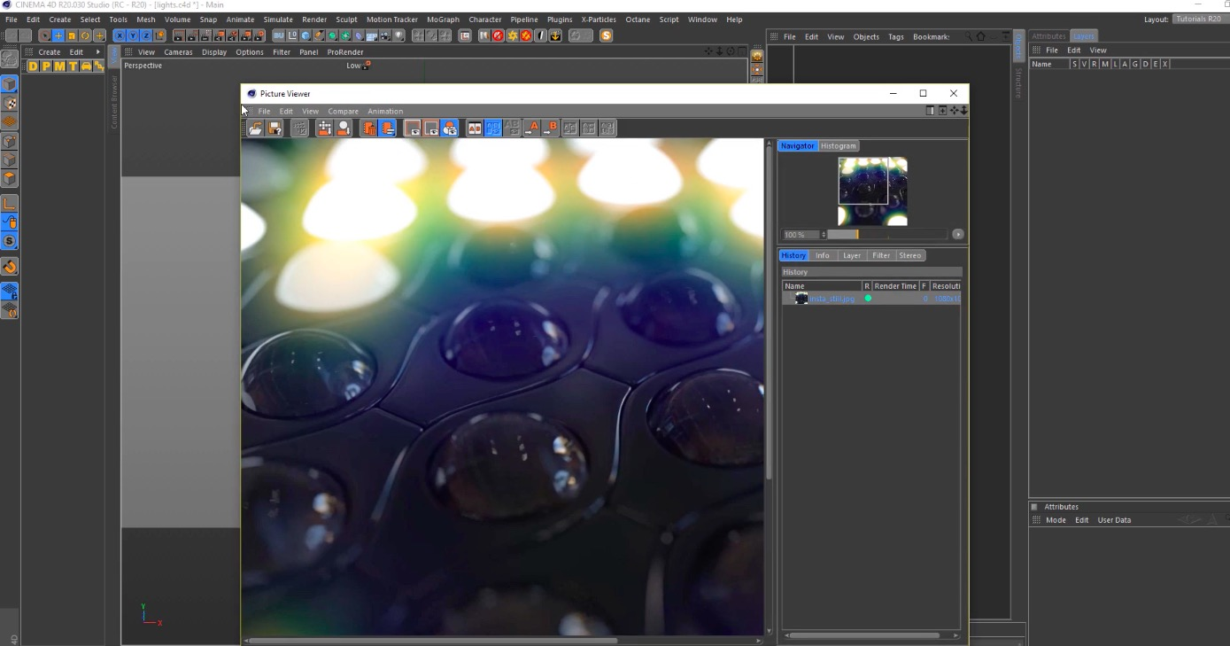 Animate Moving Lights in Cinema 4D