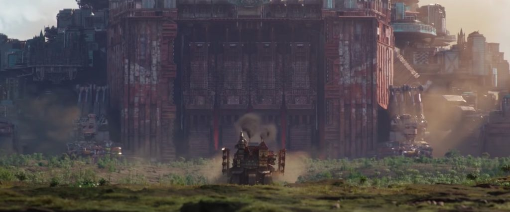 Creating Mortal Engines Cities