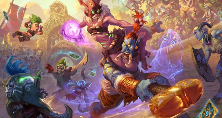 Hearthstone Rastakhan's Rumble Artworks