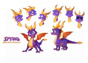 Spyro Reignited Trilogy Concept Art by Nicholas Kole