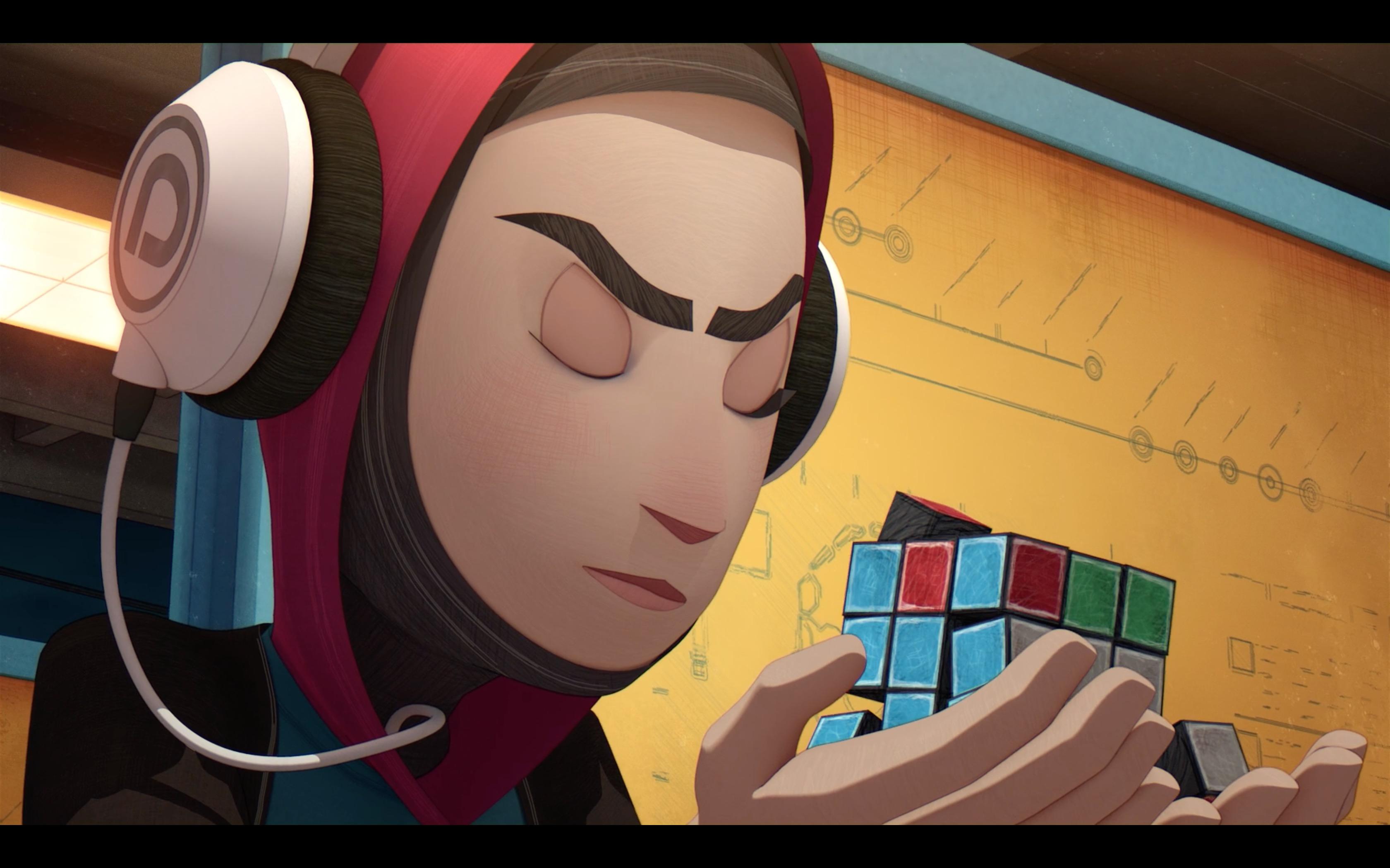 Animated Short: Scrambled