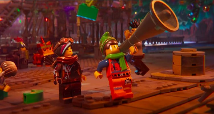Emmet's Holiday Party A LEGO Movie Short