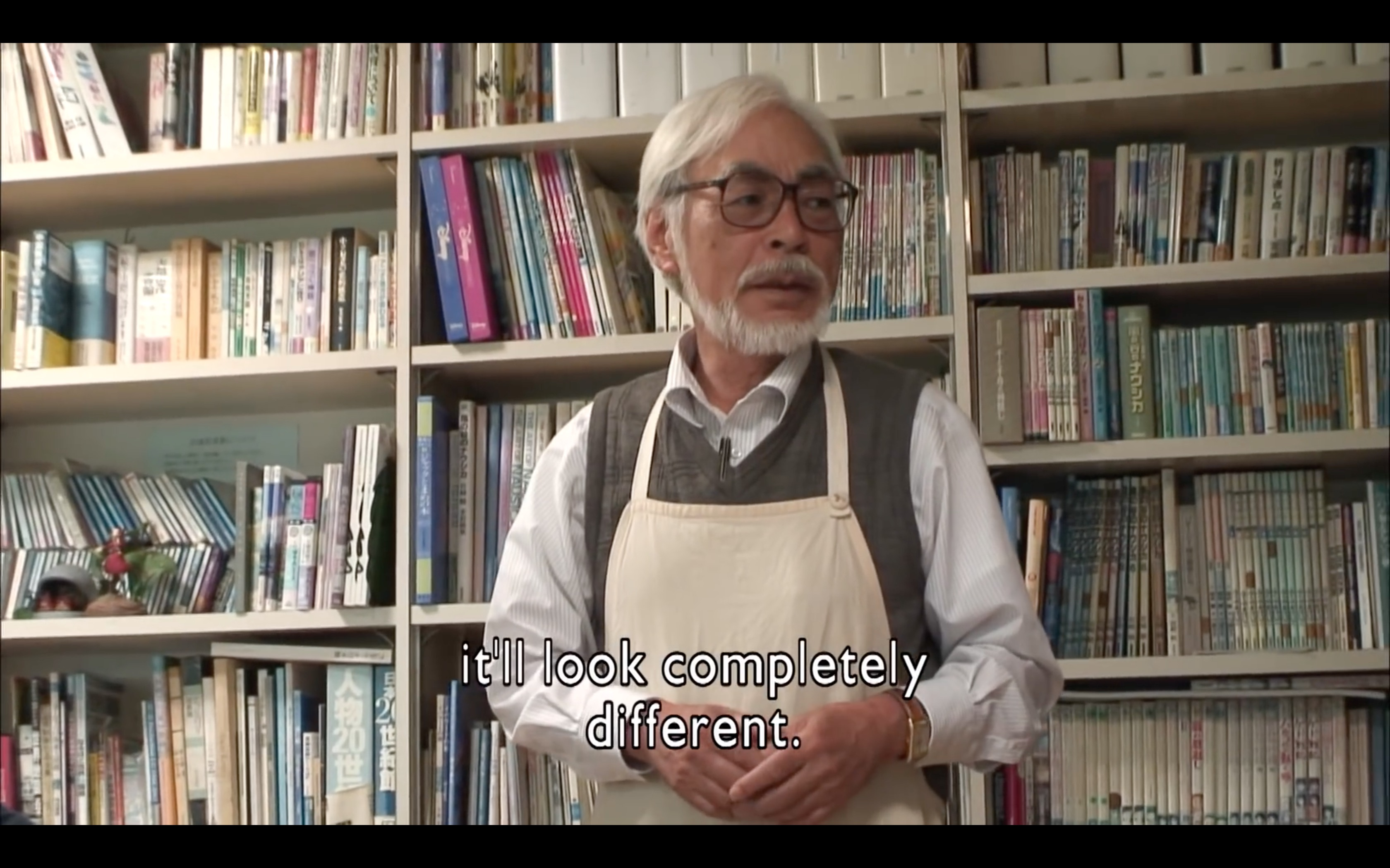 Hayao Miyazaki on working on his first CG Movie