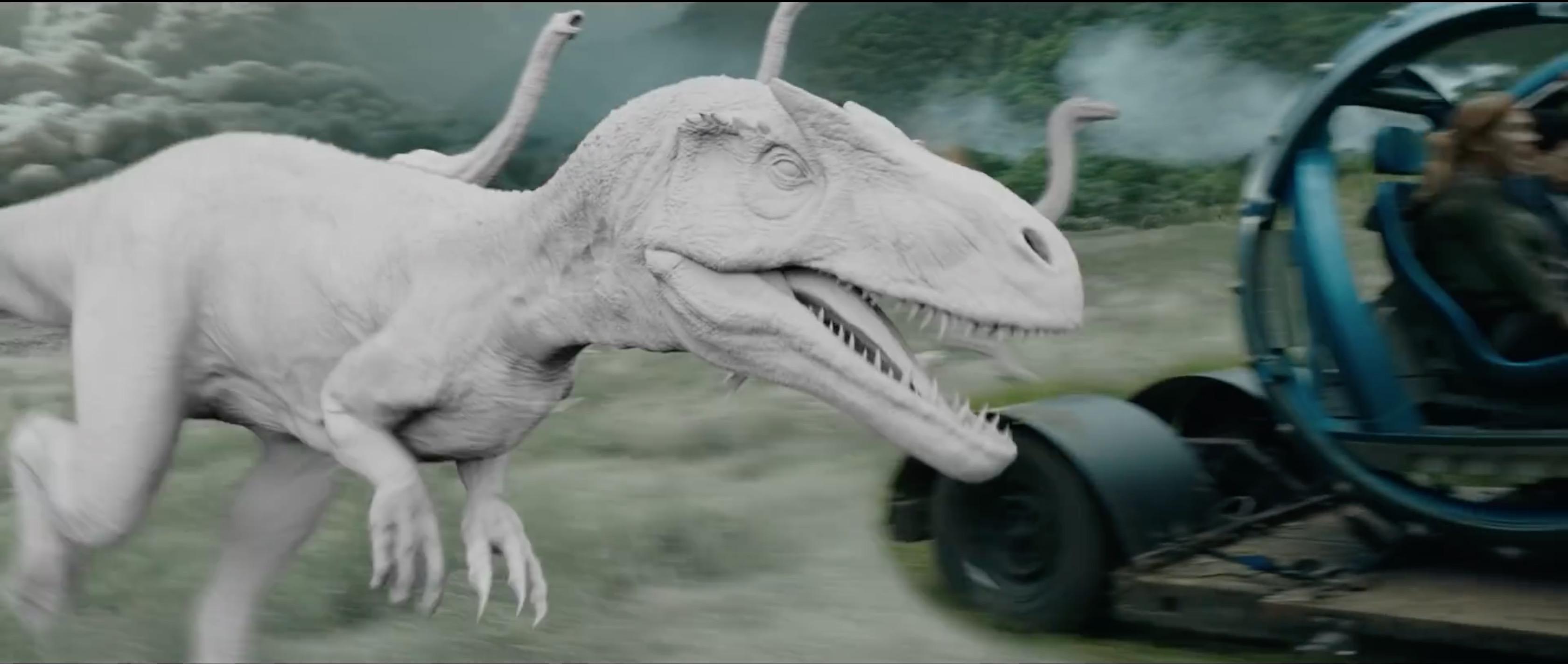 Jurassic World: Fallen Kingdom VFX Breakdown by ILM