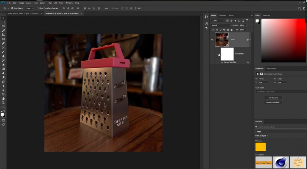 Model a Grater in C4D