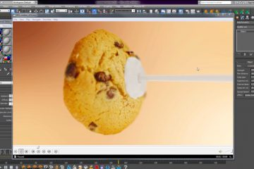 milk cookie VFX