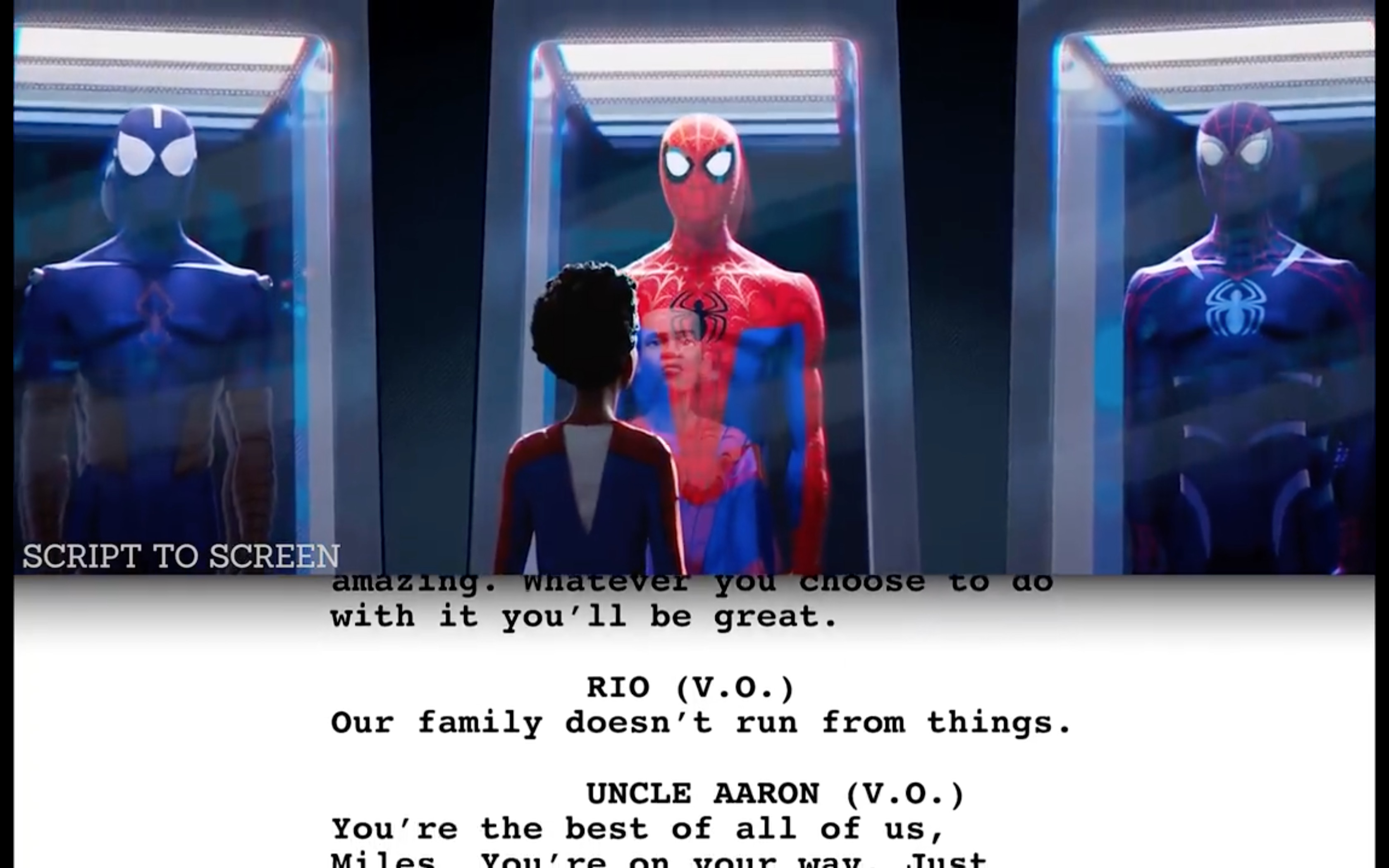 Spider-Man: Into the Spider-Verse From Script to Screen