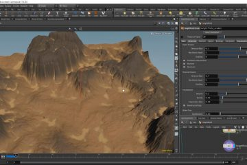 Houdini 17 - New Erosion node