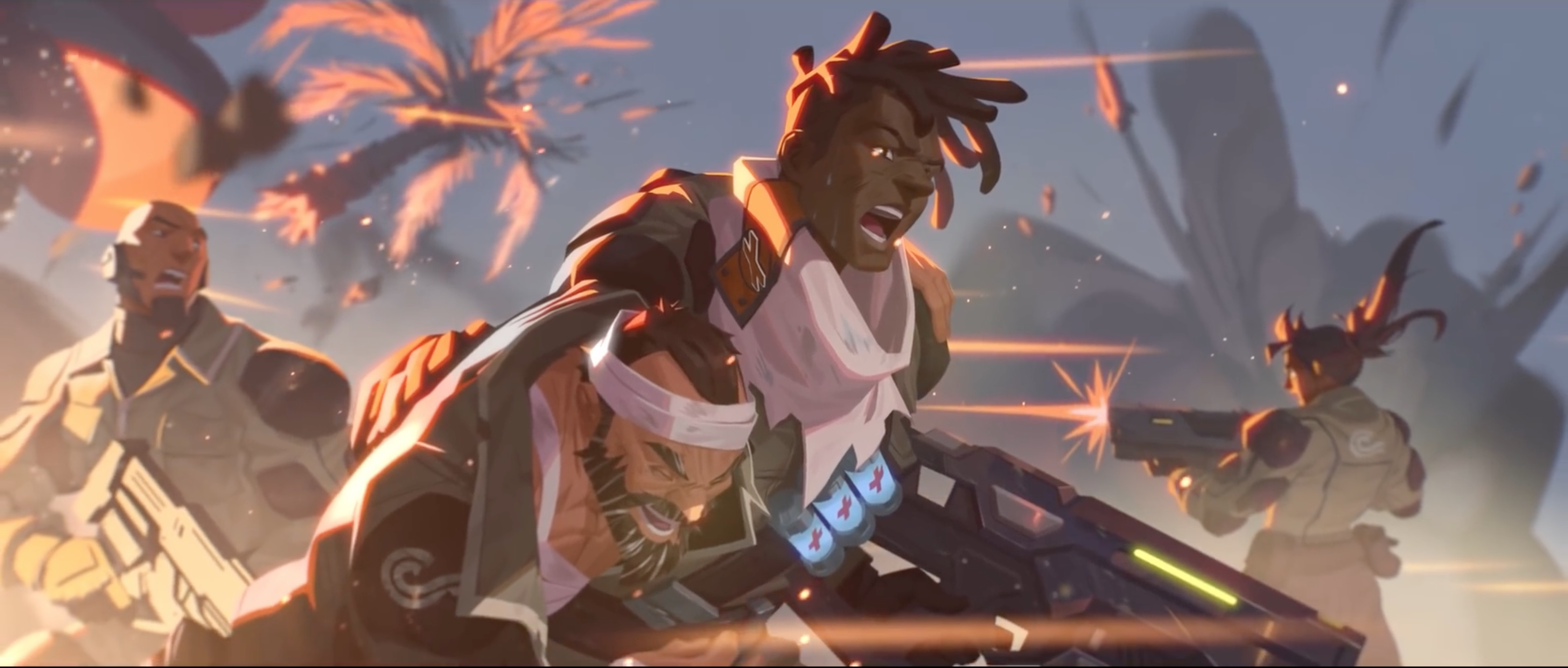 Overwatch Trailer: Baptiste Origin Story