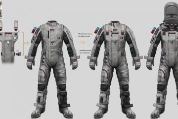 Crafting Tech Suits for The Wandering Earth