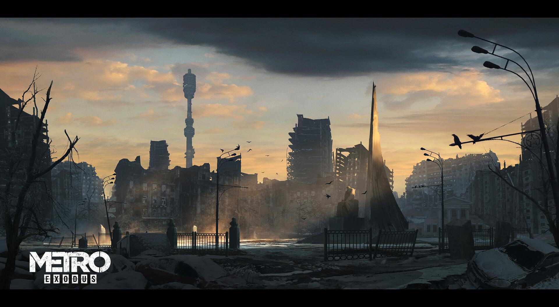 Metro Exodus Concept Art by Rostyslav Zagornov