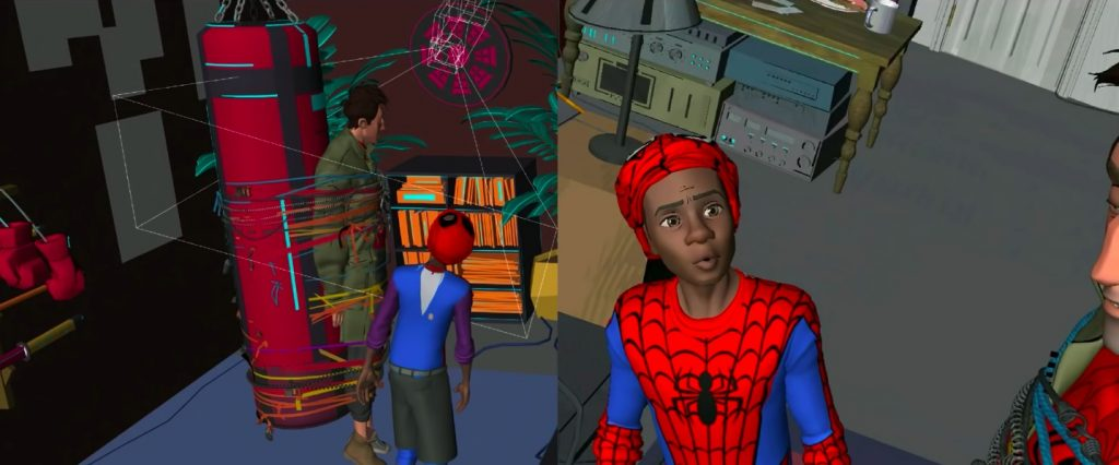 SPIDER-MAN  INTO THE SPIDER-VERSE - Animating Miles