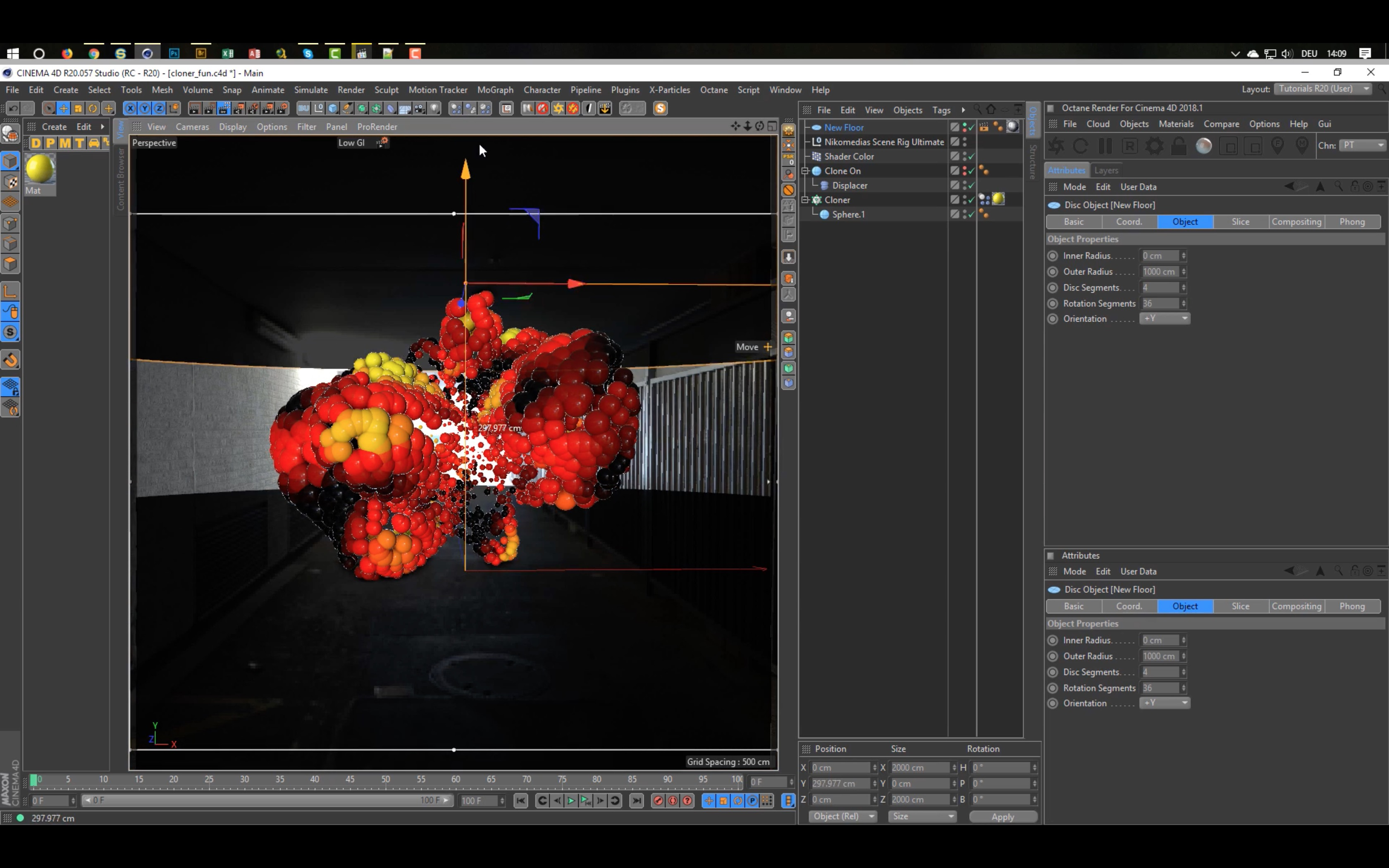 Cinema 4D Tutorial: Animated Spheres Madness