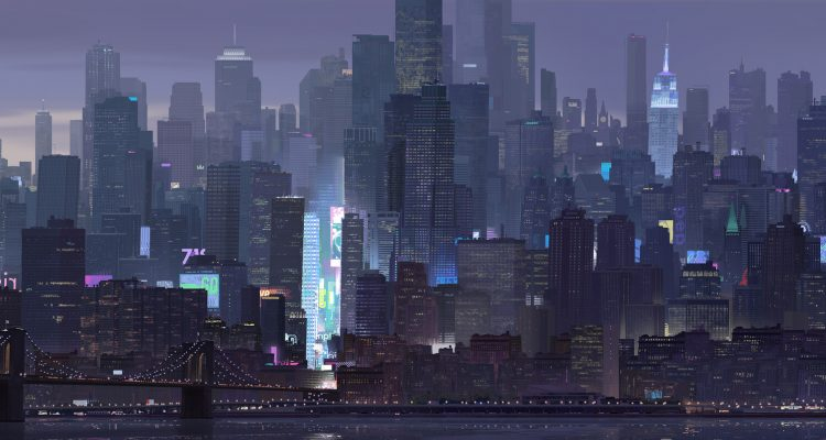 The Art of Spider-Man: Into the Spider-verse by Patrick O'Keefe